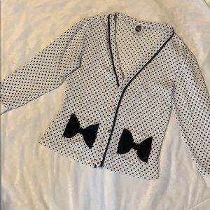 Sweaters - Polka dot cardigan